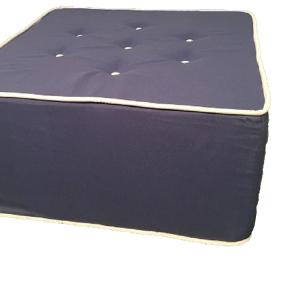 Πουφ σε σχήμα τετράγωνο - Delli Textile - πουφ εξωτερικού χώρου